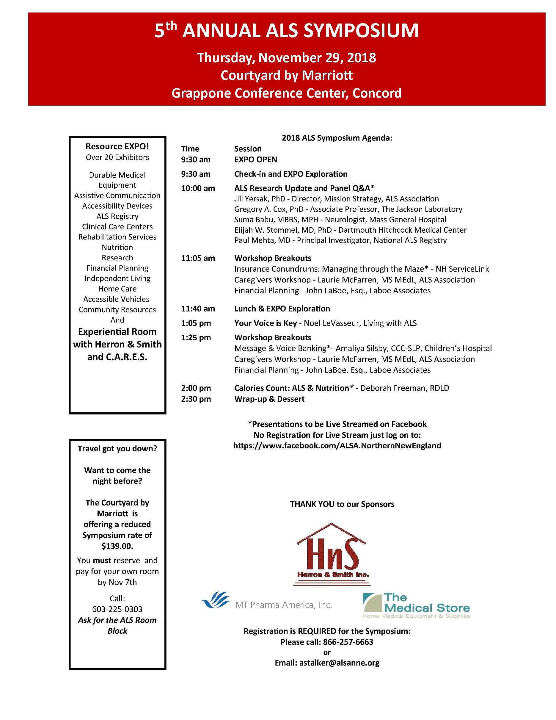 5th Annual ALS Symposium